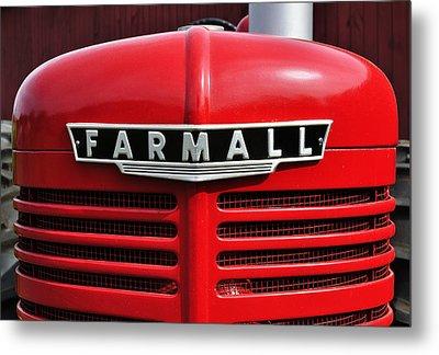 Big Red Farmall Metal Print