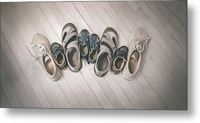 Big Shoes To Fill Metal Print by Scott Norris