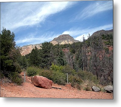 Big Sky Country Metal Print by Jeanette Oberholtzer