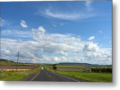 Metal Print featuring the photograph Big Sky Country by Odille Esmonde-Morgan