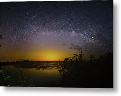 Big Sky Galaxy Metal Print