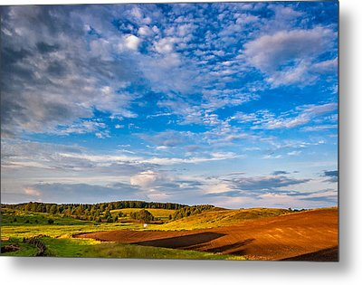 Big Sky Ontario Metal Print by Steve Harrington