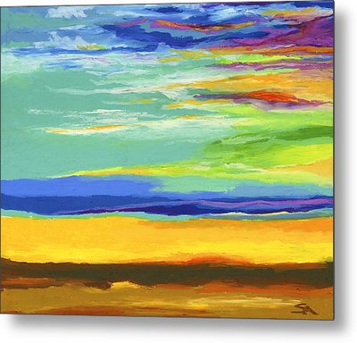 Big Sky Metal Print by Stephen Anderson