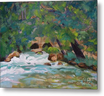 Big Spring On The Current River Metal Print
