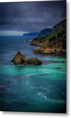 Big Sur Coastline Metal Print by Joseph Hollingsworth
