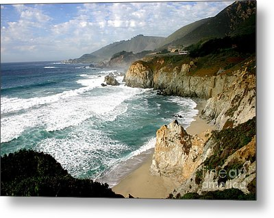 Big Sur Metal Print