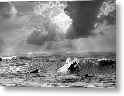 Big Surf Metal Print by John Hix