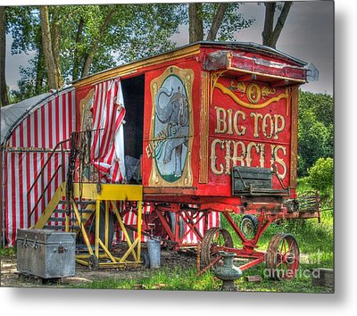 Big Top Circus II Metal Print by Jimmy Ostgard