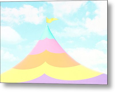 Big Top In The Sky Metal Print by Amy Tyler