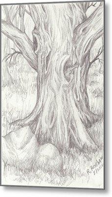 Big Tree Metal Print by Ruth Renshaw