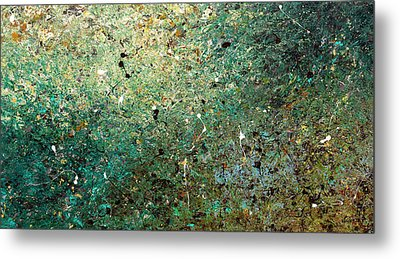 Metal Print featuring the painting Big Universe - Abstract Art by Carmen Guedez