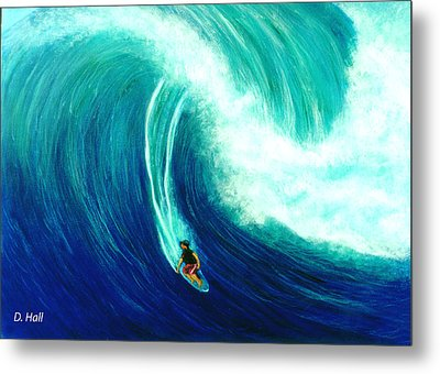 Big Wave North Shore Oahu #285 Metal Print by Donald k Hall