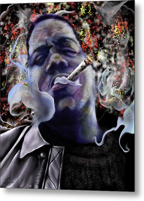 Biggie - Burning Lights 5 Metal Print