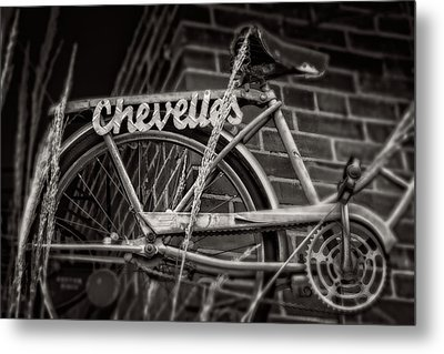 Metal Print featuring the photograph Bike Over Chevelles by Greg Mimbs