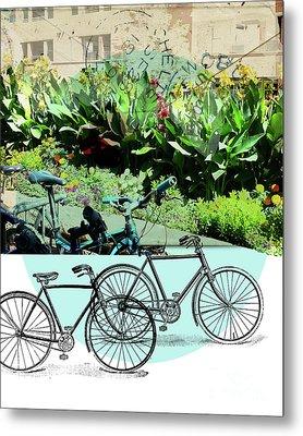 Bike Poster Metal Print
