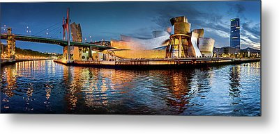 Bilbao Guggenheim Metal Print by Marty Garland