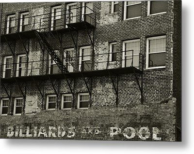 Billiards And Pool Metal Print