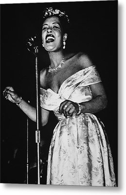 Billie Holiday Metal Print by American School