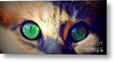 Bink Eyes Metal Print