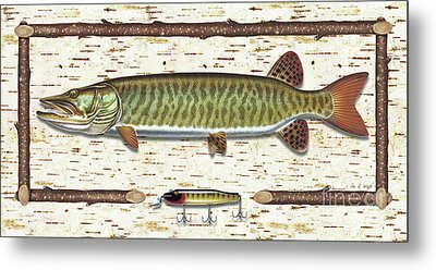 Birch Musky Metal Print by JQ Licensing