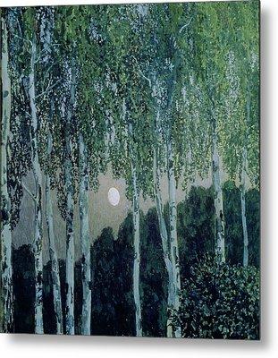 Birch Trees Metal Print by Aleksandr Jakovlevic Golovin