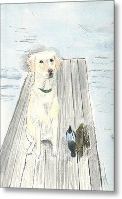 Bird Dog Metal Print