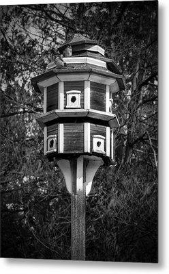 Bird House Metal Print