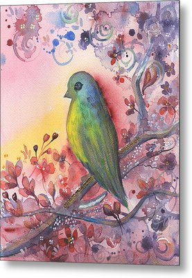 Bird In Paradise   Metal Print