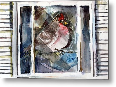 Bird Metal Print by Mindy Newman
