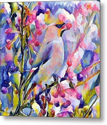 Bird Of Paradise 2 Metal Print by Yury Malkov