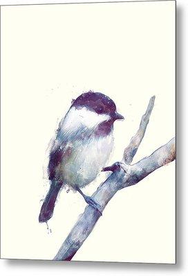 Bird // Trust Metal Print by Amy Hamilton