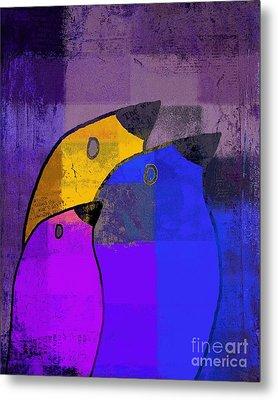Birdies - C02tj126v5c35 Metal Print by Variance Collections