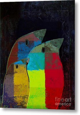 Birdies - C2t1v4 Metal Print by Variance Collections