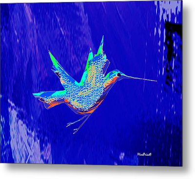 Bird Flight Metal Print by Asok Mukhopadhyay