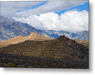Metal Print featuring the photograph Bishop California by Dung Ma