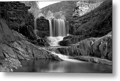 Bissell Falls   Metal Print by Ed Boudreau