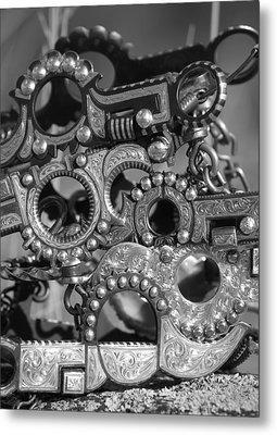 Bits Metal Print by Diane Bohna