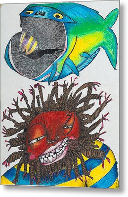 Bk-fish  Metal Print by Billy Knows