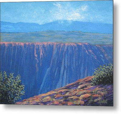 Black Canyon Of The Gunnison Metal Print by Gene Foust
