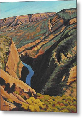 Black Canyon Overlook Metal Print