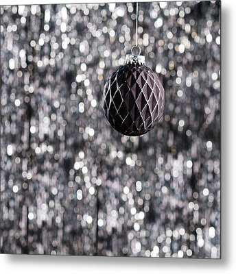 Metal Print featuring the photograph Black Christmas by Ulrich Schade