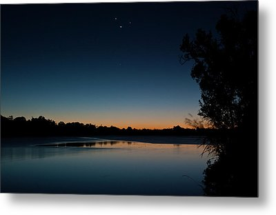 Metal Print featuring the photograph Black Friday Conjunction by Odille Esmonde-Morgan