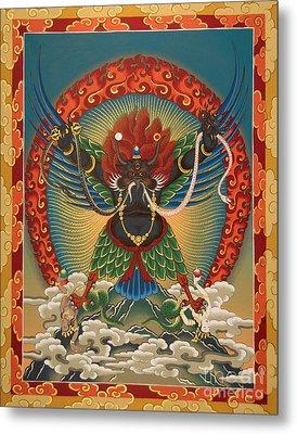 Black Garuda - Tsasum Tersar Metal Print