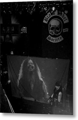 Black Label Dimebag Metal Print