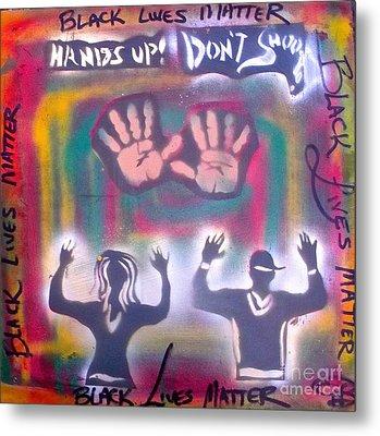 Black Lives Matter Metal Print by Tony B Conscious