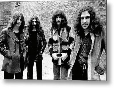 Metal Print featuring the photograph Black Sabbath 1970 #4 by Chris Walter