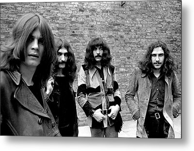 Metal Print featuring the photograph Black Sabbath 1970 #5 by Chris Walter