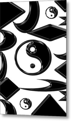 Yin Yang  Abstract Metal Print by Aimee L Maher Photography and Art Visit ALMGallerydotcom