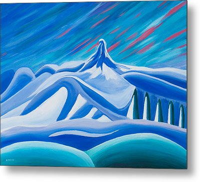 Black Tusk Whistler Metal Print by Ginevre Smith