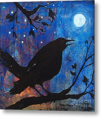 Blackbird Singing Metal Print